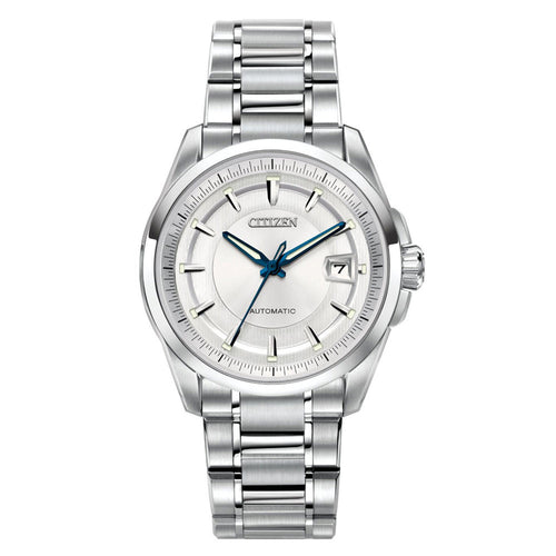 Citizen NB0040-58A Men's Signature Grand Classic Silver Dial Automatic Steel Watch