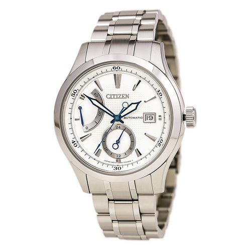 Citizen NB3010-52A Men's The Signature Grand Classic Silver Dial Power Reserve Automatic Watch