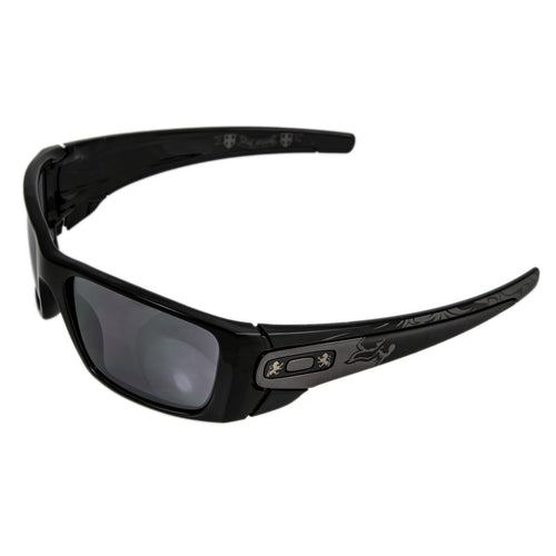 Oakley OO9096-61 Men's Stephen Murray Signature Fuel Cell Black Frame Black Iridium Lenses Sunglasses