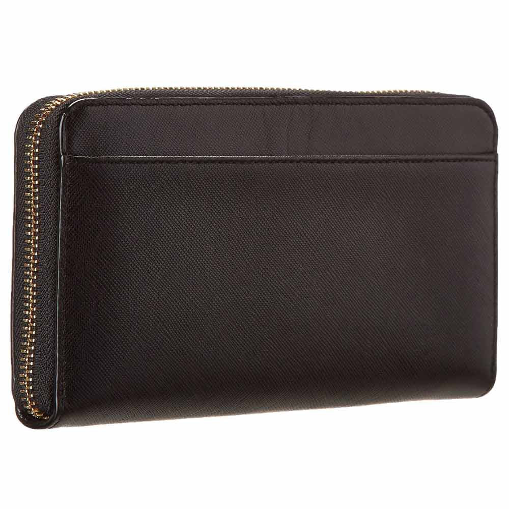 Kate Spade PWRU3438-001 Women's Cherry Lane Lacey Black Leather Wallet