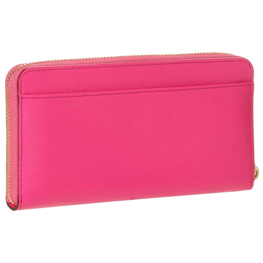 Kate Spade PWRU3438-670 Women's Cherry Lane Lacey Vivid Snapdragon Leather Wallet