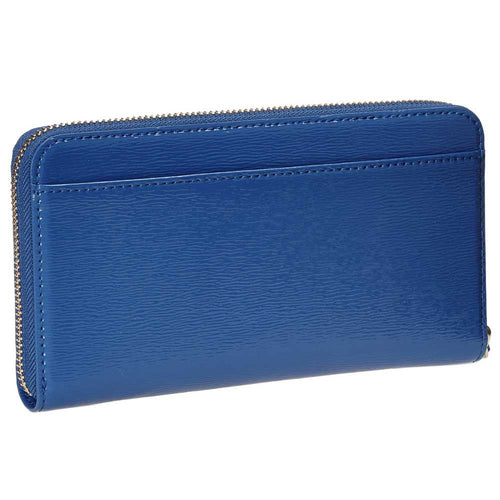 Kate Spade PWRU3926-439 Women's Cedar Street Patent Lacey Orbit Blue Patent Leather Wallet