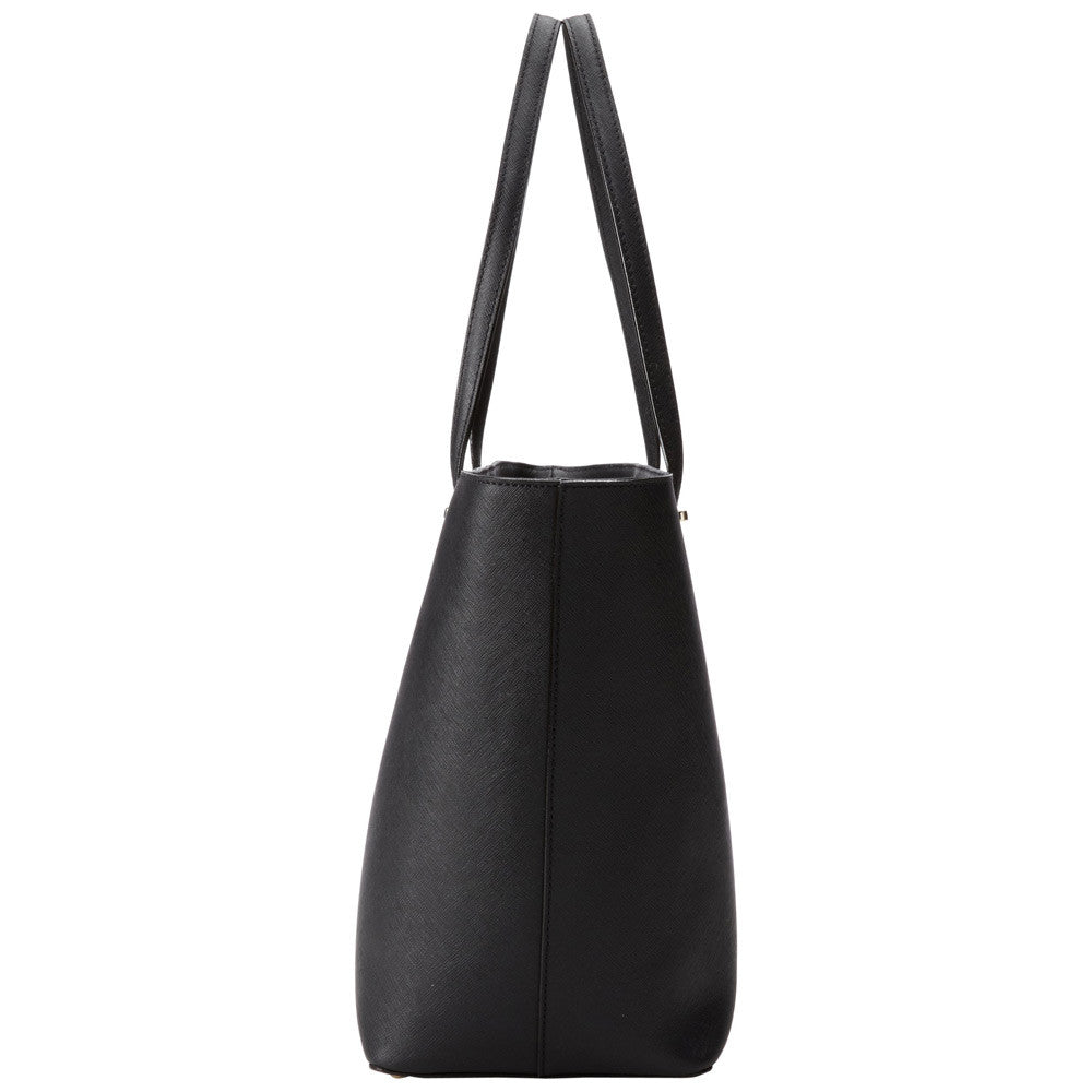 Kate Spade PXRU4423-001 Women's Cedar Street Medium Harmony Black Leather Shoulder Bag