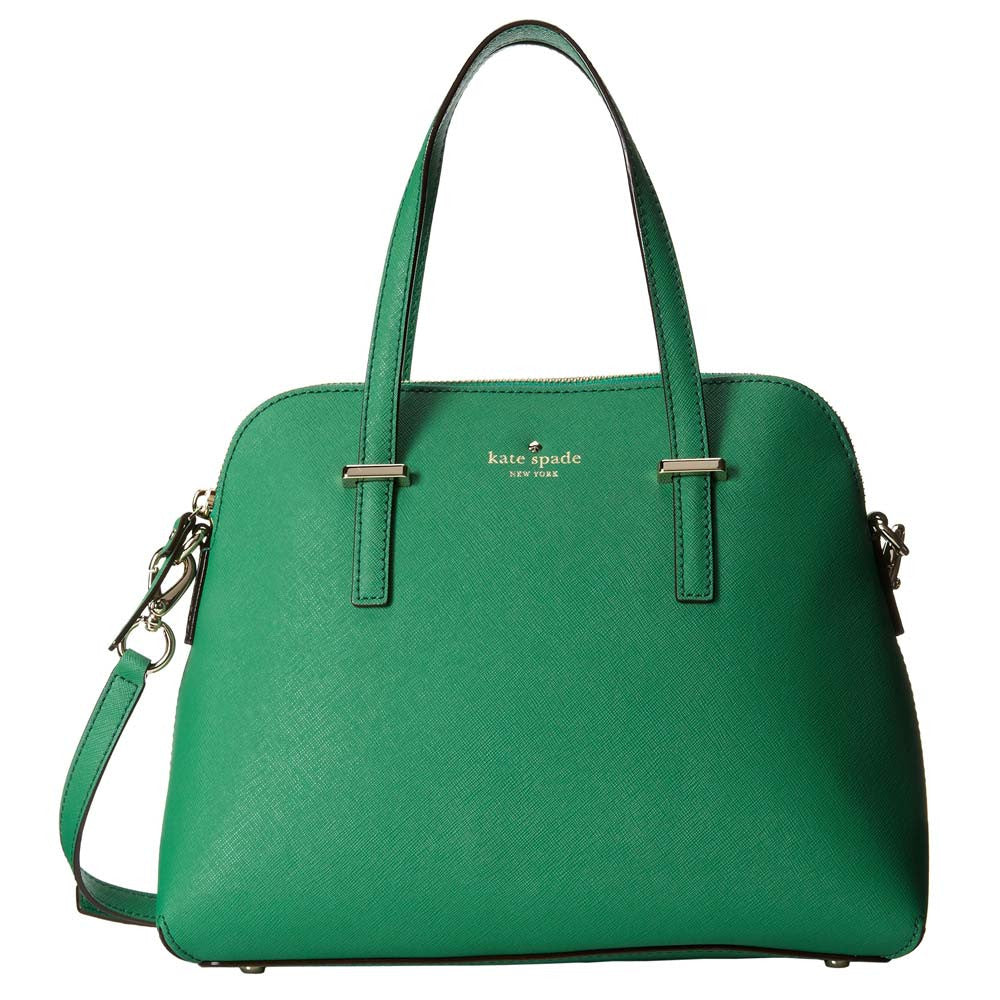 Kate Spade PXRU4471-323 Women's Cedar Street Maise Snap Pea Leather Shoulder Bag