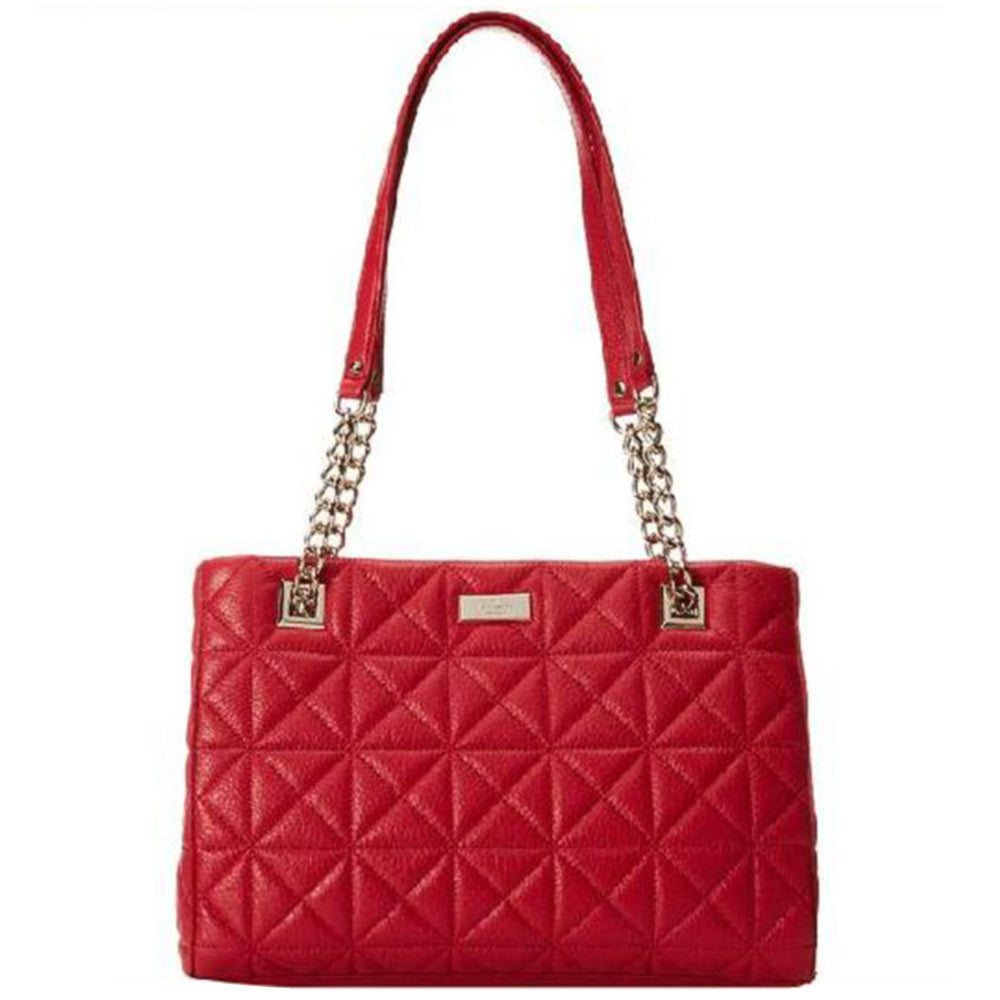 Kate Spade PXRU4541-616 Women's Sedgewick Place Small Phoebe Dynasty Red Pebbled Leather Shoulder Bag