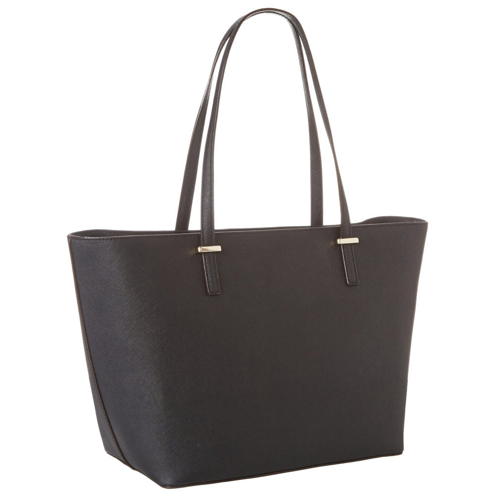 Kate Spade PXRU4545-001 Women's Cedar Street Small Harmony Black Leather Tote