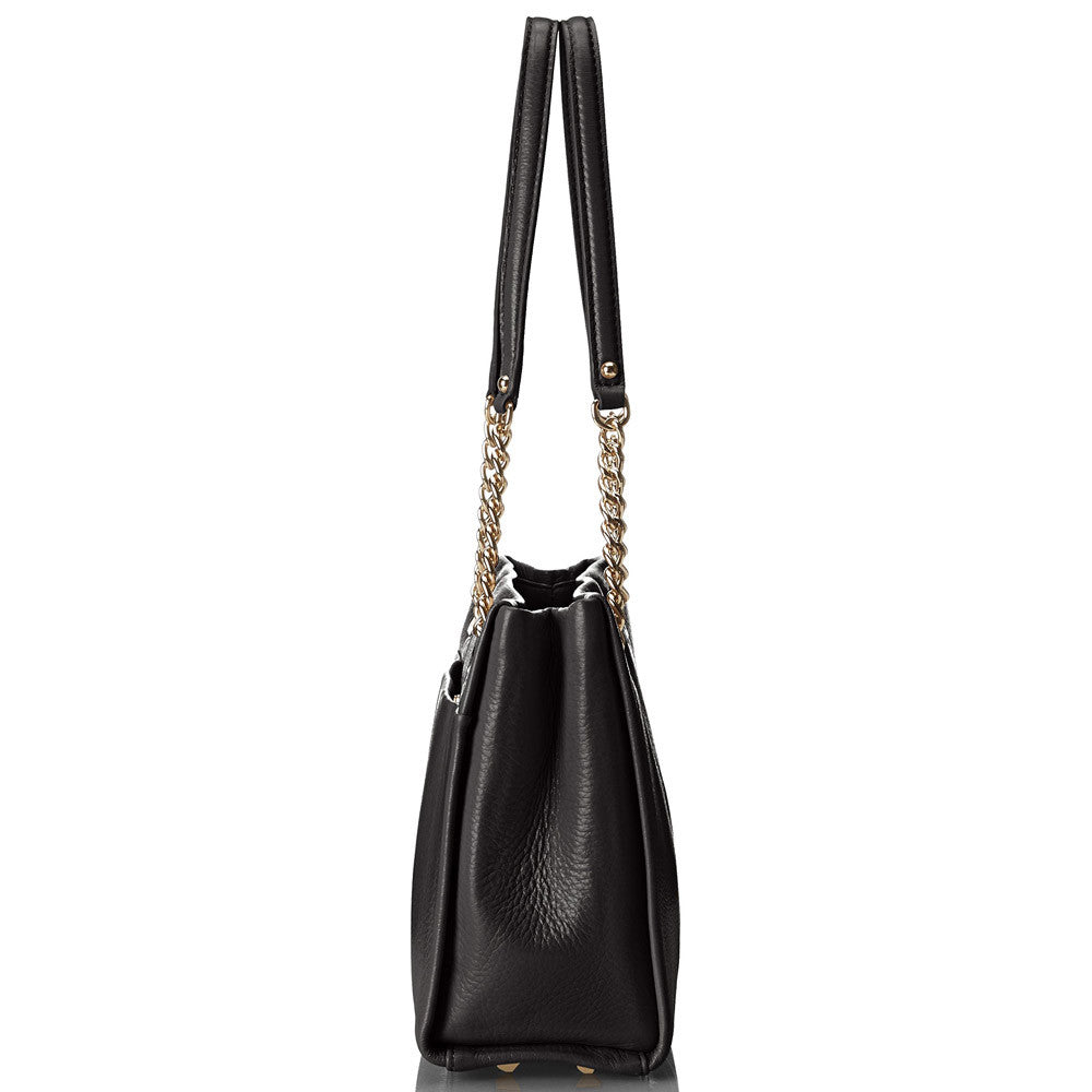Kate Spade PXRU4910-001 Women's Sedgewick Lane Small Phoebe Black Leather Shoulder Bag