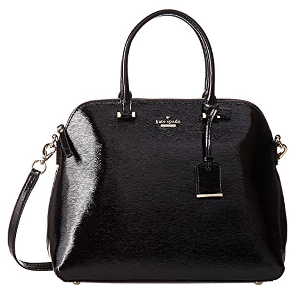 Kate Spade PXRU5131-001 Women's Cedar Street Patent Margot Black Leather Crossbody Satchel