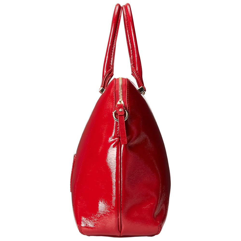 Kate Spade PXRU5131-616 Women's Cedar Street Patent Margot Dynasty Red Leather Tote