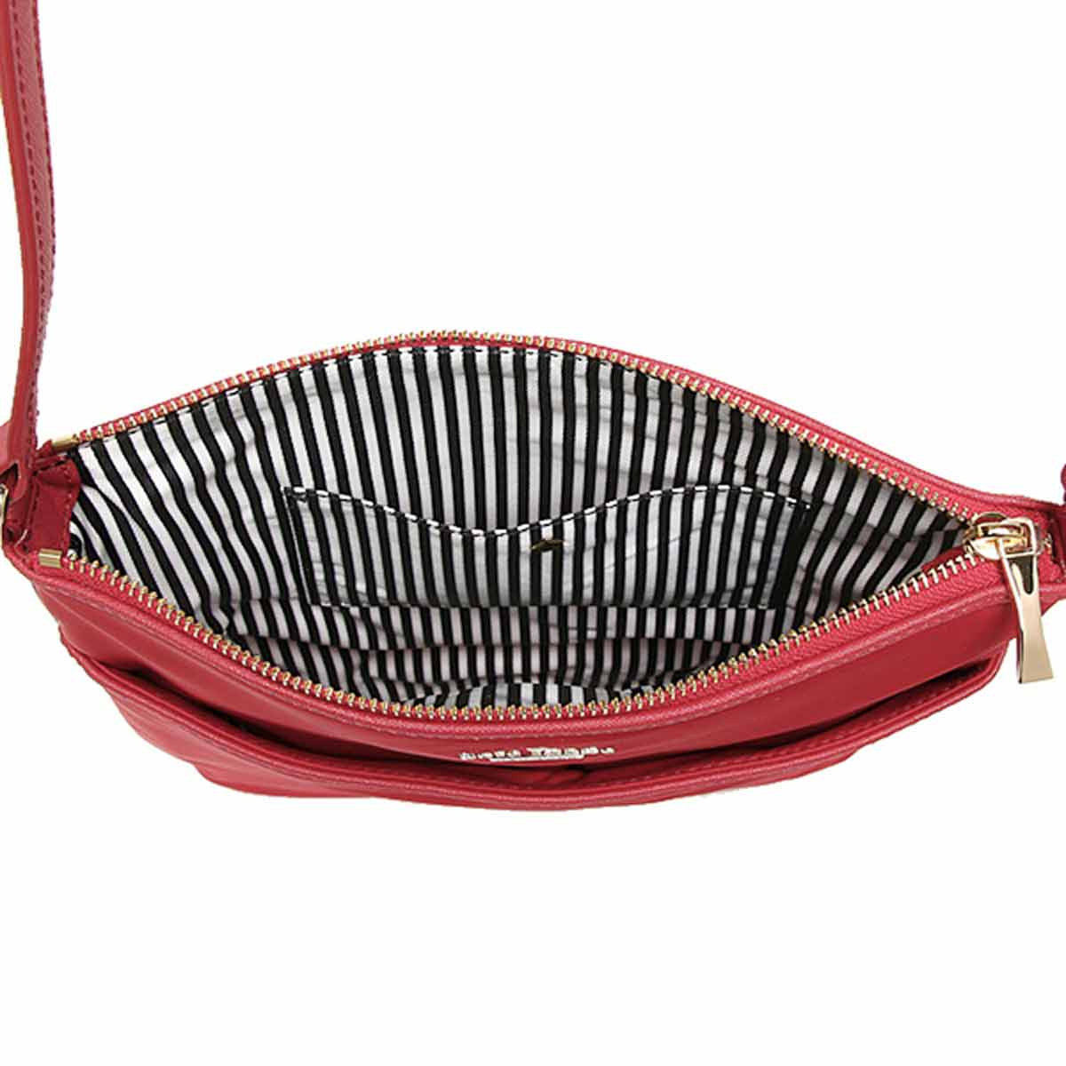 Kate Spade PXRU5388-648 Women's Classic Joni Crossbody Garnet Nylon Shoulder Bag