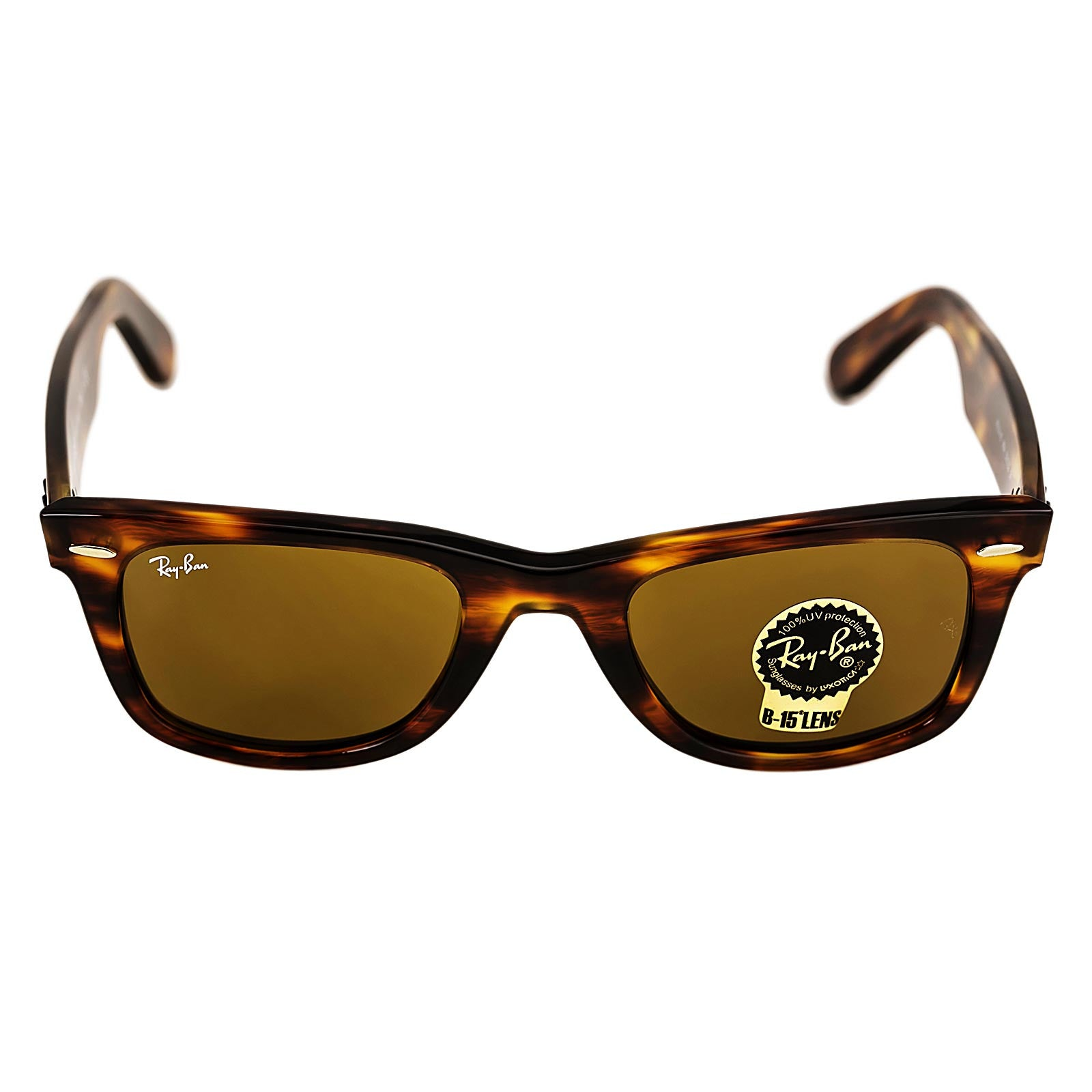 ray ban polarized original wayfarer  ray ban rb 2140 954 50 women's original wayfarer classic tortoise acetate frame brown classic b 15 lenses sunglass
