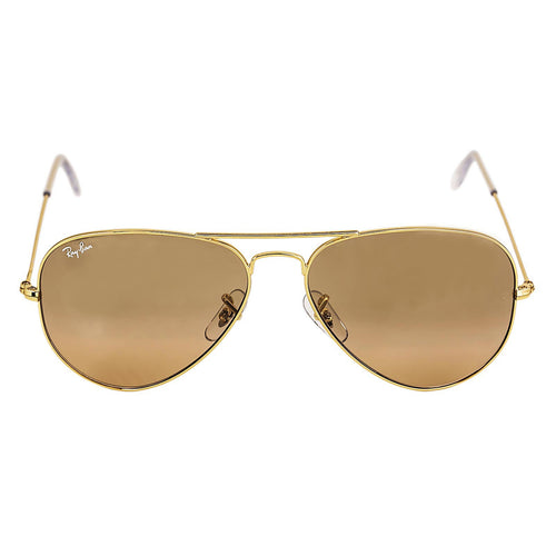 ray ban aviator sale  sale. ray ban rb 3025 001 3e 58 men's aviator gold metal frame silver/
