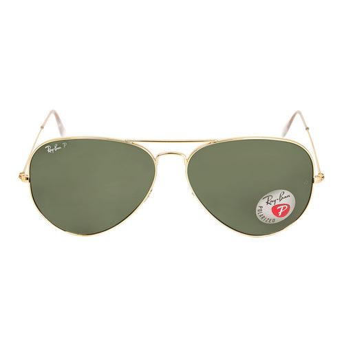 ray ban aviator sale  sale. ray ban rb 3025 001 58 62 unisex aviator large arista golden metal polarized