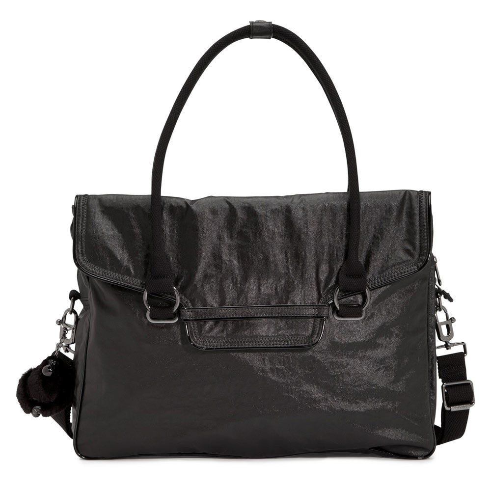 Kipling TM5270-005 Women's Super City Lacquer Black Bag