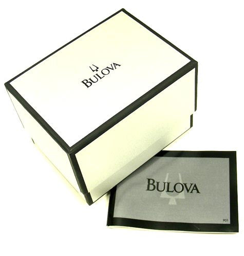 Bulova 96A126 Men's Stainless Steel Black Dial Watch