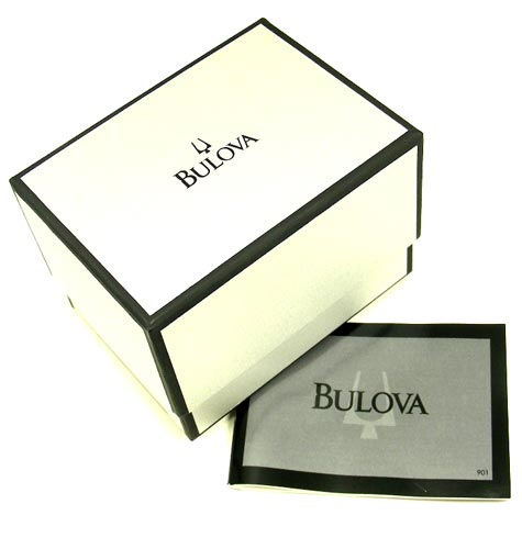 Bulova 96B149 Men's Quartz Black Dial Stainless Steel Watch