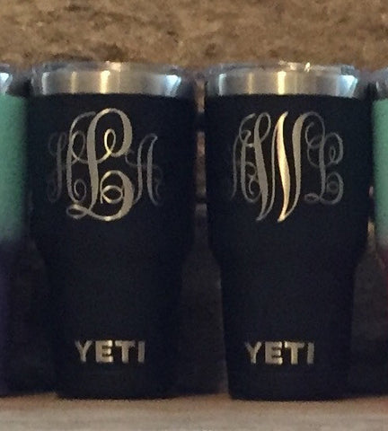 Powder Coated Yeti Cups and Tumblers, Powder Coating Services