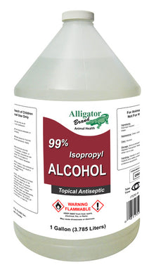 99% Isopropyl Rubbing Alcohol 1-Gallon