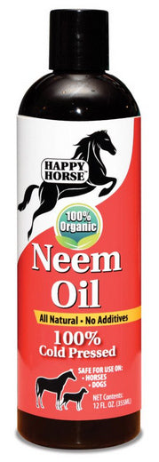 100% Cold Pressed Certified Organic Neem Oil 12-oz