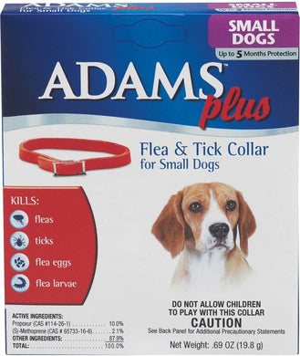 Adams Flea and Tick Collar For Small Dogs (Up to 15 in.)