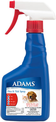 Adams Flea and Tick Spray 16 Oz.
