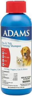 Adams Flea & Tick Cleansing Shampoo - 6 Oz.