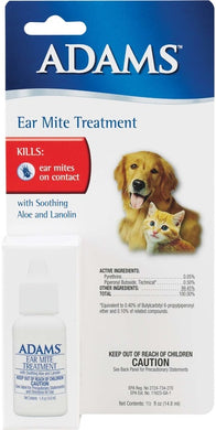Adams Ear Mite Lotion - .5 oz (formerly Penemite)