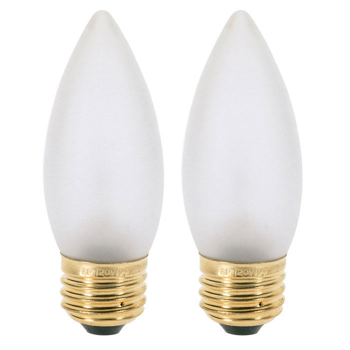 Satco A3596 60W 130V B10.5 Frosted E26 Base Incandescent light bulb
