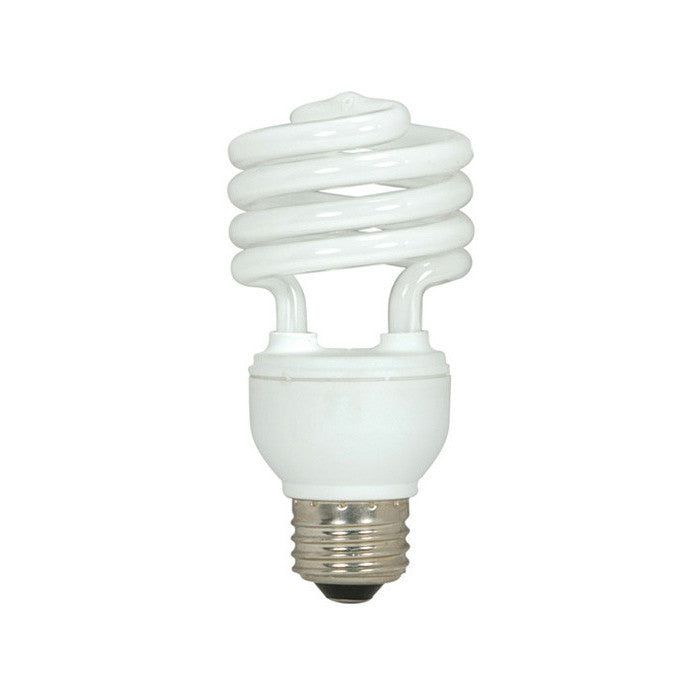 Satco S6273 3 Pack - 18W T2 Ultra Mini Spirals Screw-In 5000K Natural Light