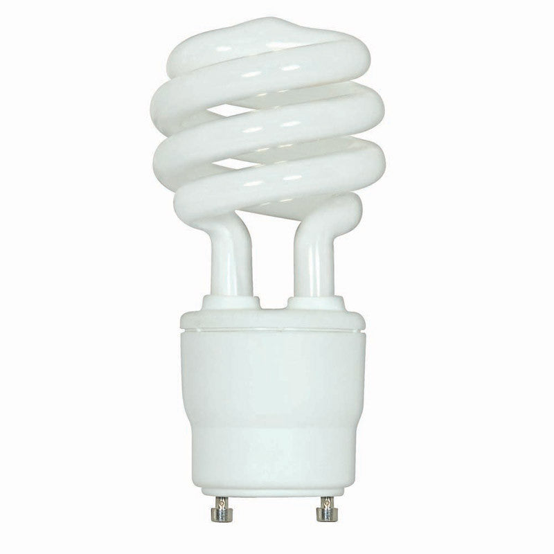 Satco 15 watt 120 volt Mini Twist compact fluorescent light bulb