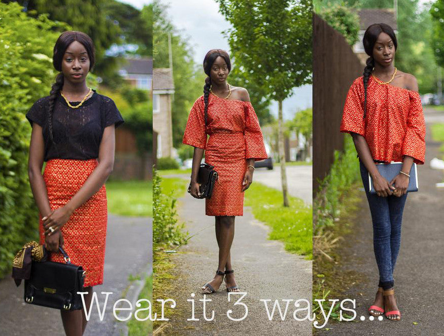 WEAR IT 3 WAYS...