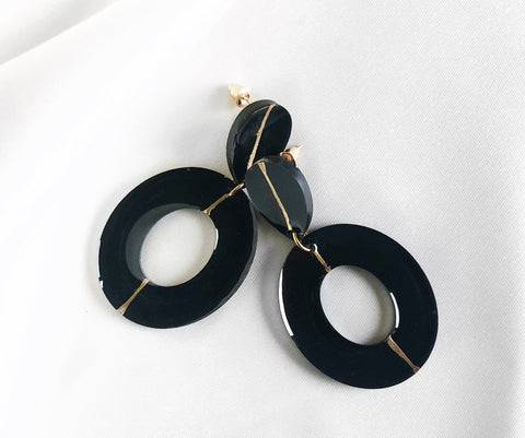 Huda- Round Earrings