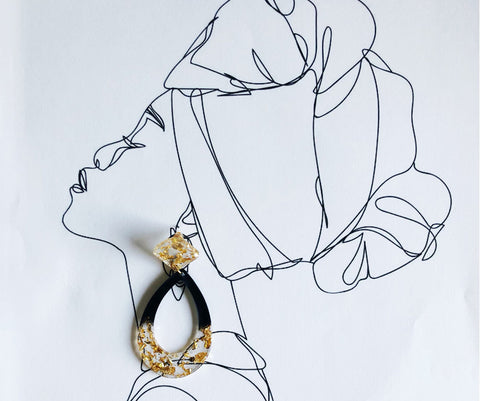 Esi - Teardrop Earrings