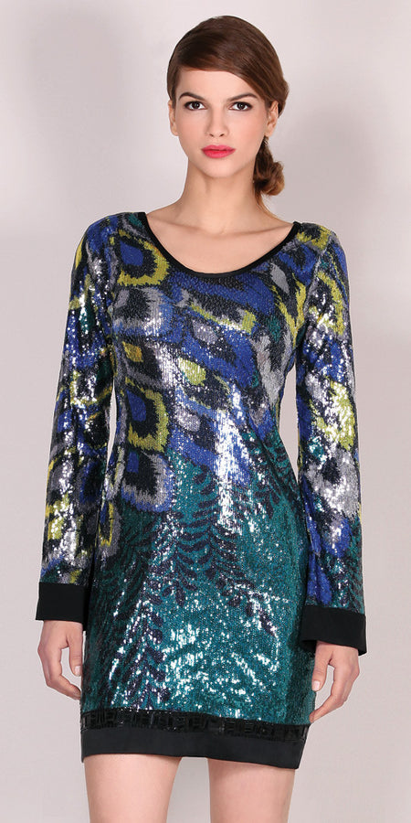 Velvet Burnout Silk Chiffon Top