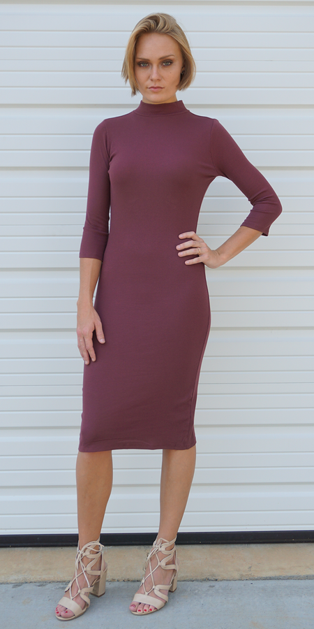Fitted Strap Back Dress