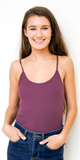 Ribbed Cotton Tank Top