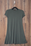 Green Swing T Shirt Dress