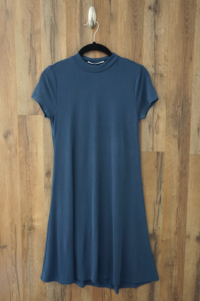 Blue Swing T Shirt Dress