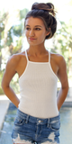 Square Neck Tank Bodysuit