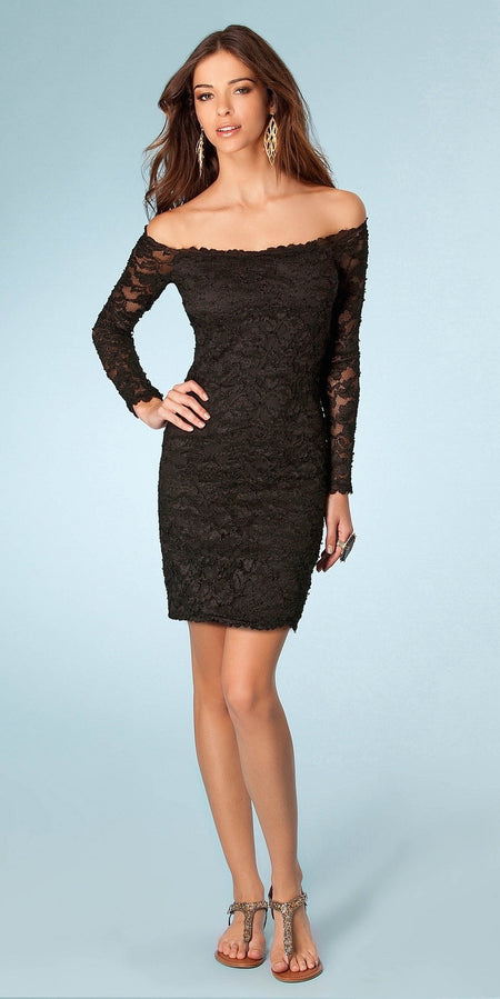 Jersey Knit Peplum Dress