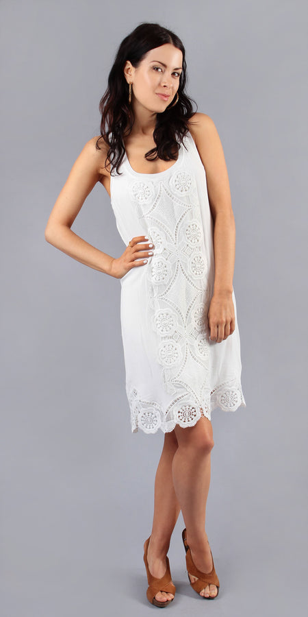 Ivory Sequin Dress