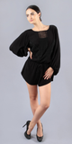 Black Lightweight Lace Romper