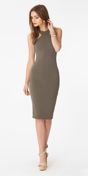 Halter Neck Bodycon Dress