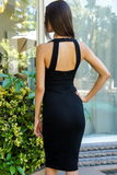 Black Sweetheart Bodycon Dress
