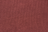 Mauve Red Tie Knit Sweater