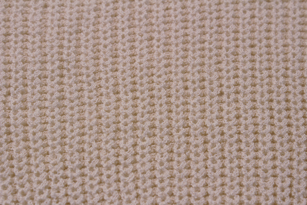 Beige Tie Knit Sweater