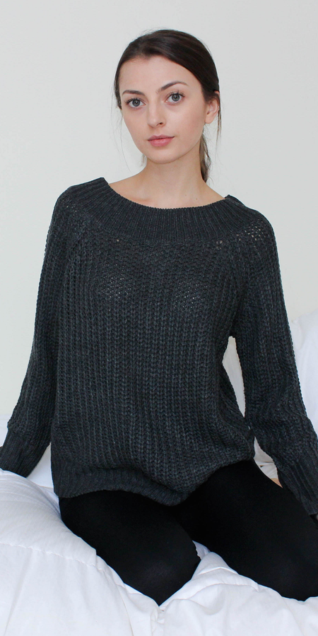 Oversized Pullover Knit Sweater