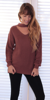 Choker Neck Sweater