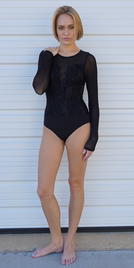 Plunge V Neck Tank Top Bodysuit