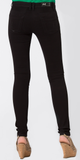Black Soft Cotton Skinny Jeans